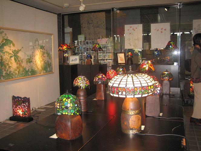 2011  10月8日 絵とランプで満ちる天地展・川越ドッグラン 004