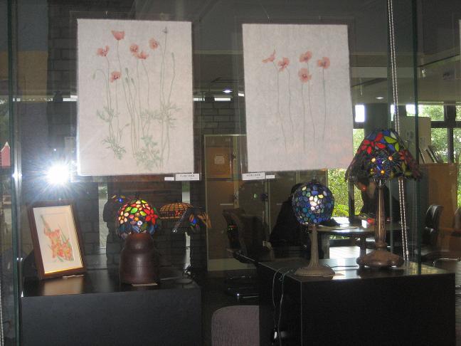 2011  10月8日 絵とランプで満ちる天地展・川越ドッグラン 006