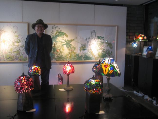 2011  10月8日 絵とランプで満ちる天地展・川越ドッグラン 009