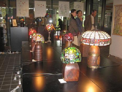 2011  10月8日 絵とランプで満ちる天地展・川越ドッグラン 005