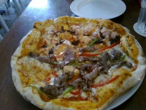 サーモンピザ3