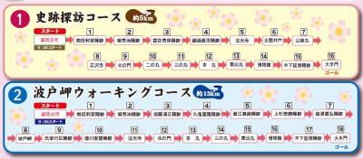 さくらと陣跡ウォーク2010.01