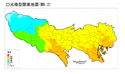 元禄型関東地震