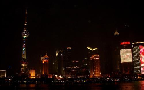上海の夜20100210