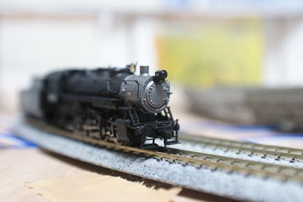 なぞの機関車 001