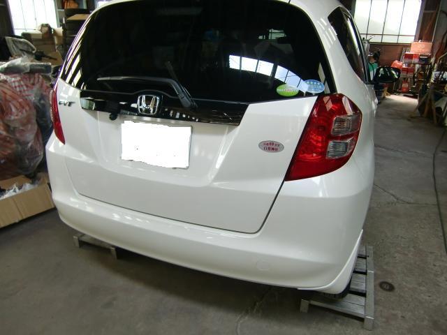 フィット 福祉車両 車いす収納装置 ①-1