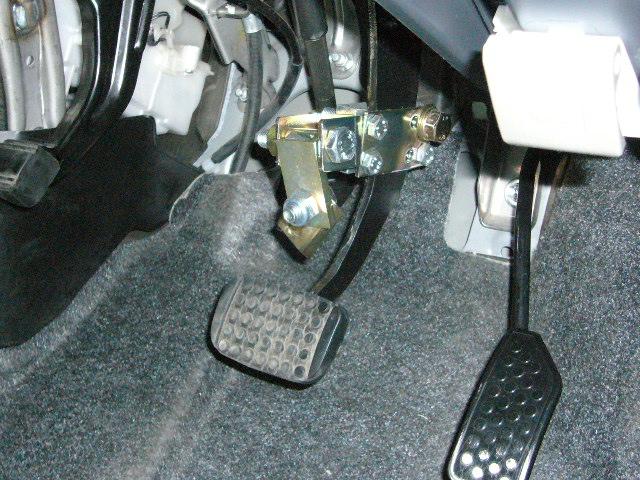 パッソ手動運転装置 ハンドコントロール1-3