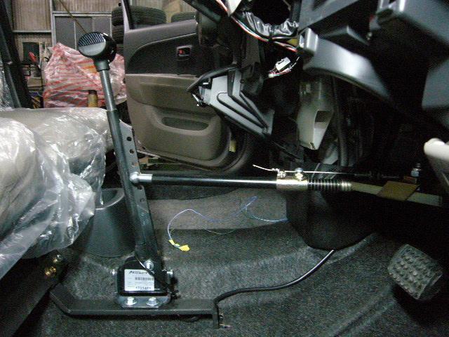 パッソ手動運転装置 ハンドコントロール1-4