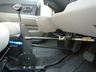 パッソ手動運転装置 ハンドコントロール2-2