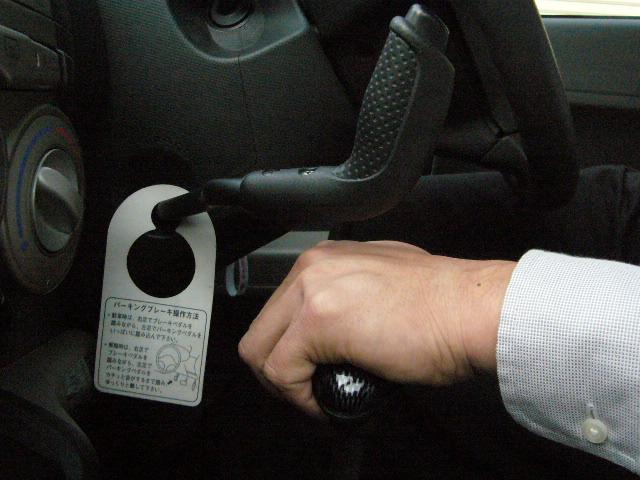 パッソ手動運転装置 ハンドコントロール2-1