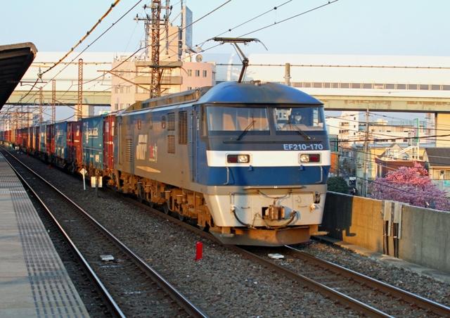 EF210-170 4089レ