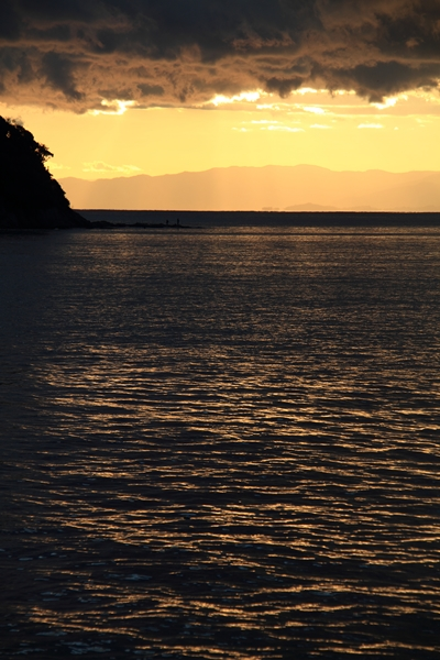 江の島の夕暮れ1