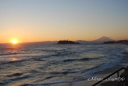 2010最後の日没