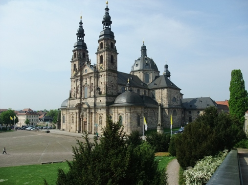 観光地を巡ろう! フルダ大聖堂