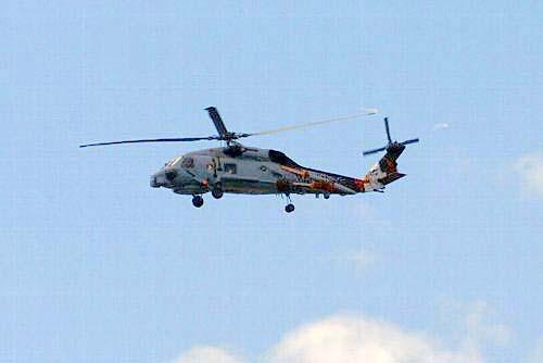 米軍ヘリ2