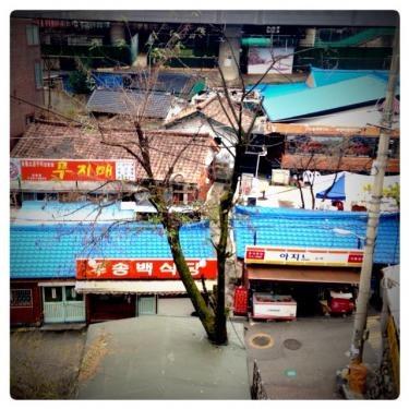 韓国らしい雰囲気ある場所です^^