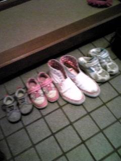 お客様の靴
