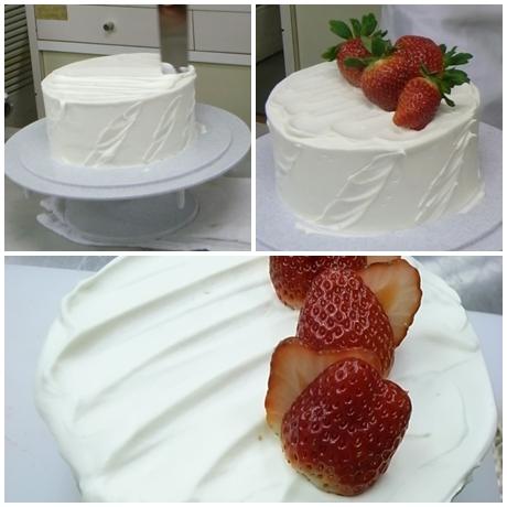 安食さんショートケーキ