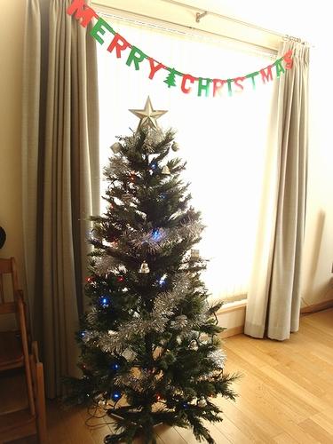 2010年のクリスマスツリー