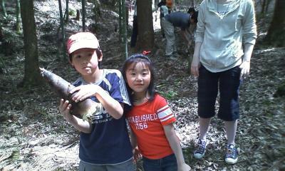 5月9日竹の子掘り?