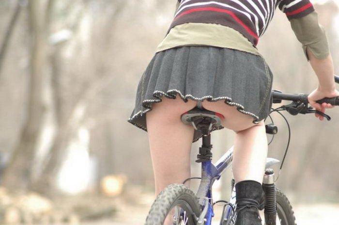 自転車女の子