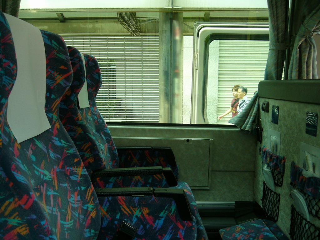 バス3列シート