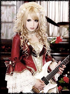 ドレスでギターな人