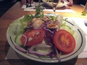 ステーキ屋サラダ