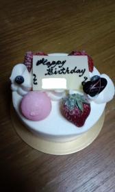 BIRTHDAYケーキ