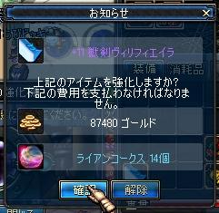+11獣剣強化