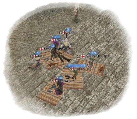 模擬戦組分け中