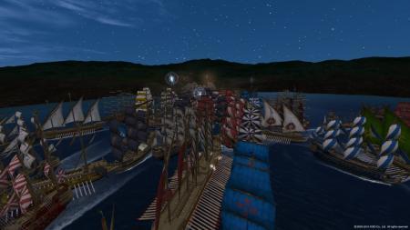 海賊討伐出港!