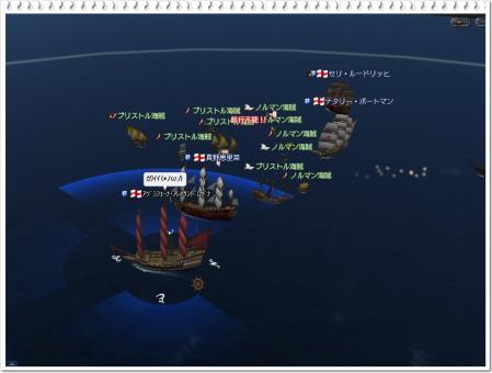 ブリストル海賊に奇襲される!?
