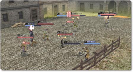 模擬後の決闘