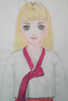 色鉛筆グルーシェニカ
