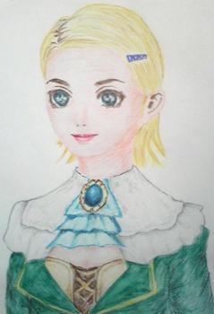 色鉛筆ナタリー