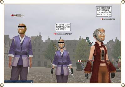 010911 悪のひょっとこ団参上