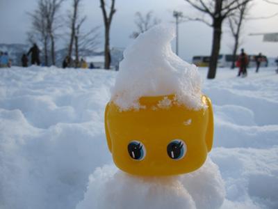 雪とふえき君