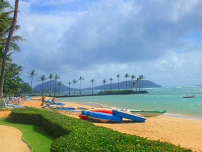 ハワイ カハラ ビーチ