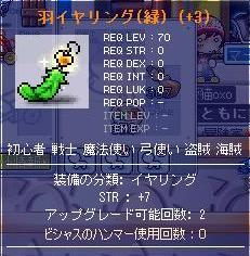 12・12羽イヤ緑4