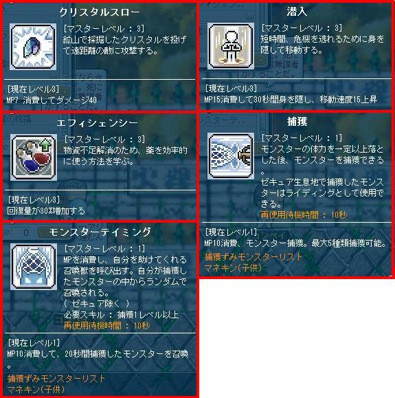 12・15WH初心者スキル