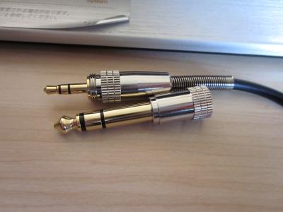 オーディオテクニカヘッドホンプラグコード