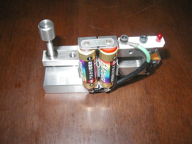 試作の測定器
