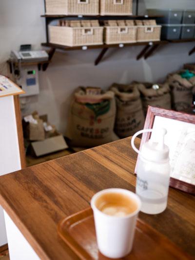 コーヒー屋 ポンポン 店内