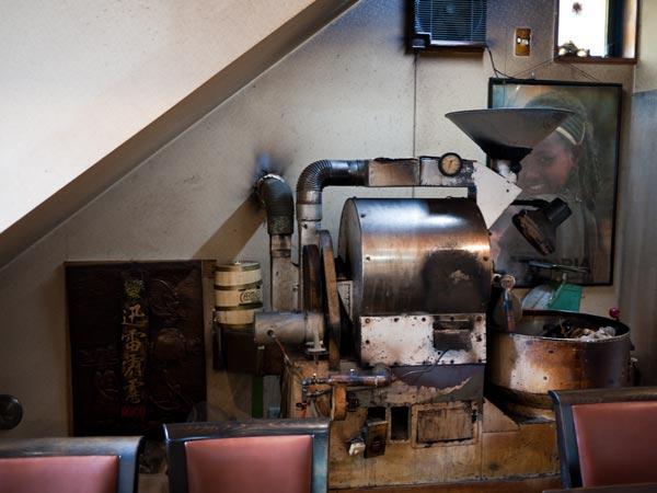 バンカム、ツル 焙煎機