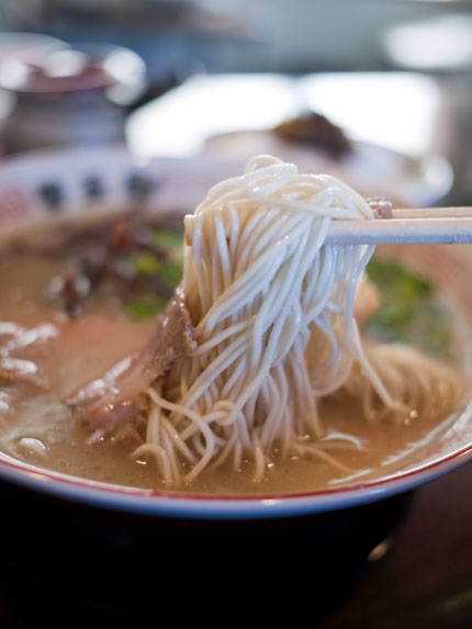 替玉屋 らーめんの麺