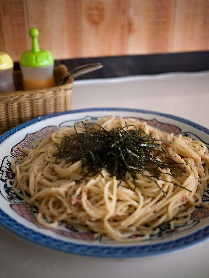 夢の中へ タラコスパゲティ