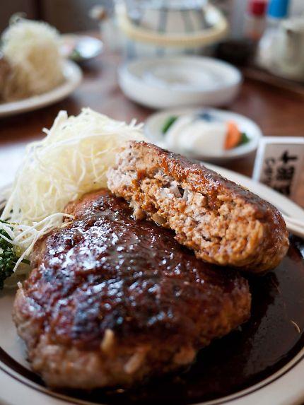 五郎十 特大ミンチ生姜焼き定食