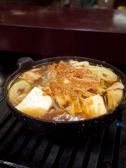 野田屋 キムチ鍋