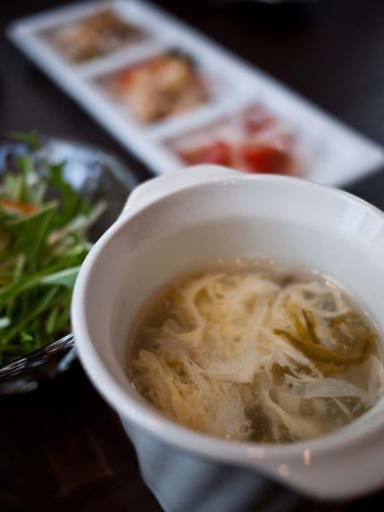 祥瑞 ランチ スープ